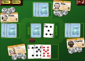 spiele schwimmen kartenspiel
